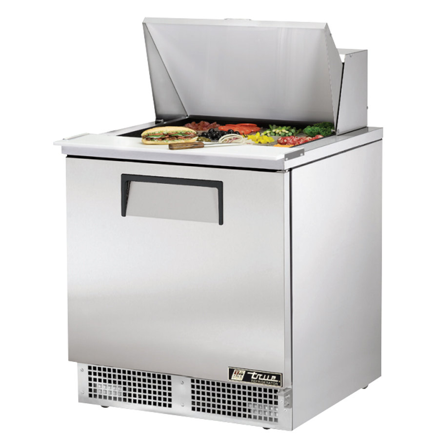 True Tfp 32 12m 32 Quot 1 Door Mega Top Refrigerated Sandwich