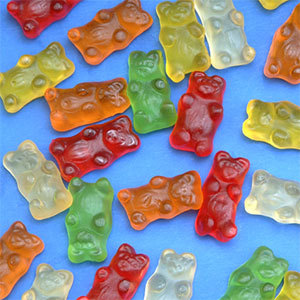 Gummy Bear Ice Cream Topping - 10 lbs.