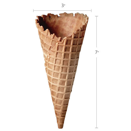Joy Large Size Ice Cream Waffle Cone - 192 / Case