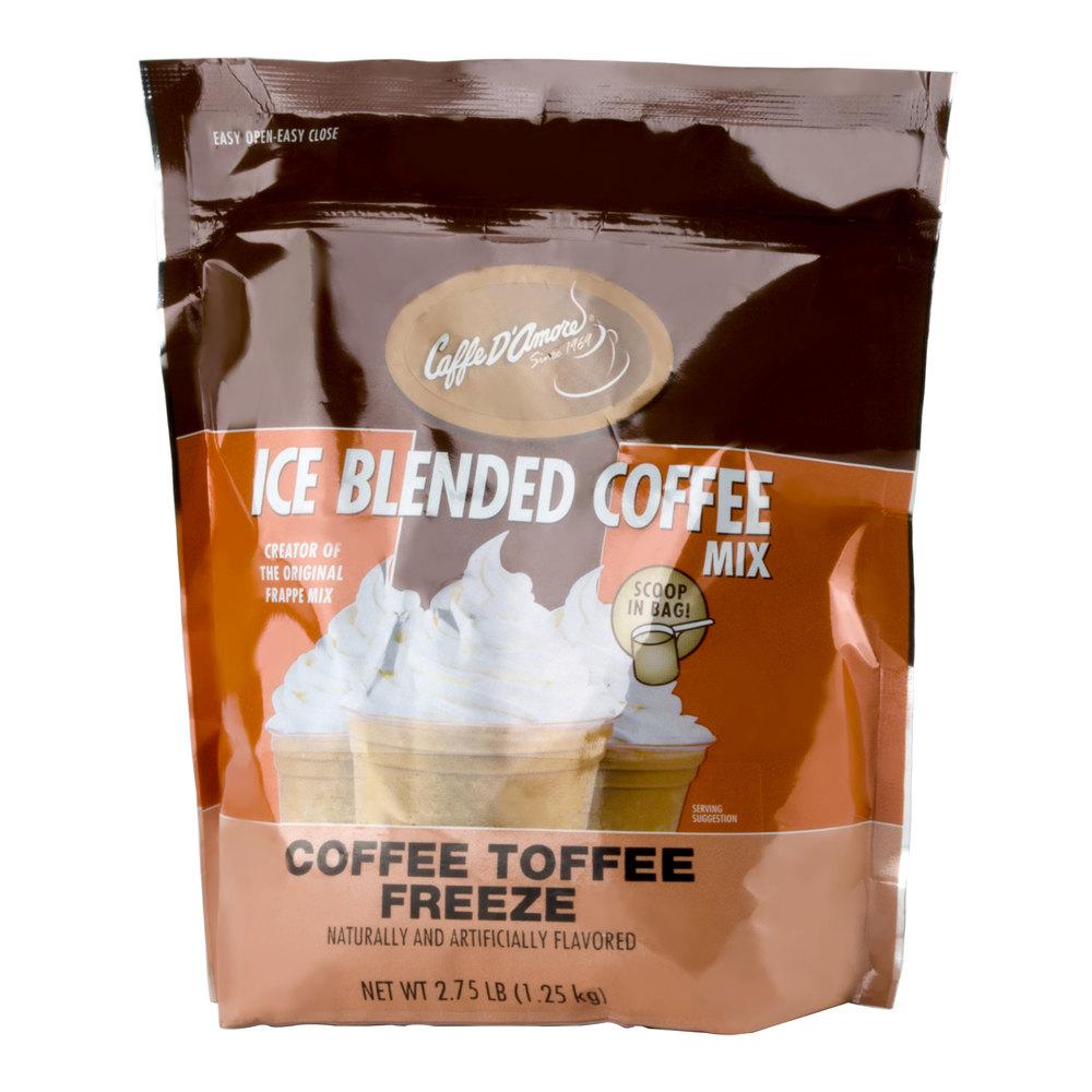 Caffe D Amore Frappe Freeze Mocha Coffee Mix
