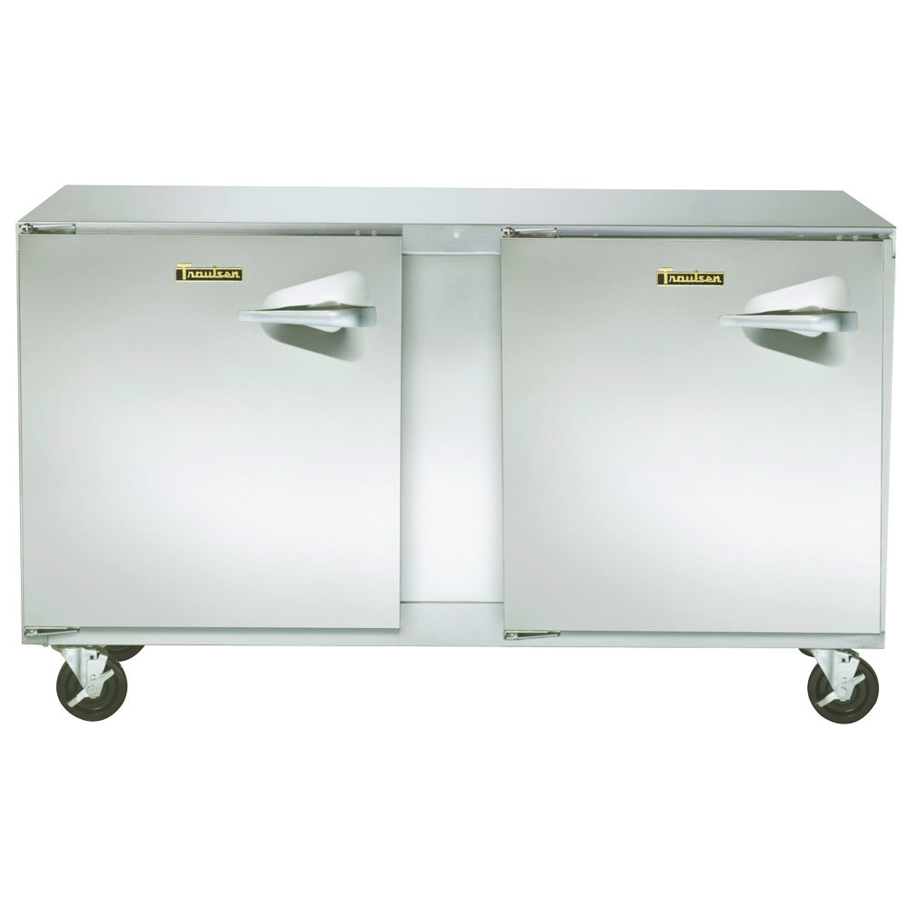 "Traulsen ULT60-LL-SB 60"" Undercounter Freezer with Left Hinged Doors and Stainless Steel Back - 16.7 Cu. Ft. at Sears.com"