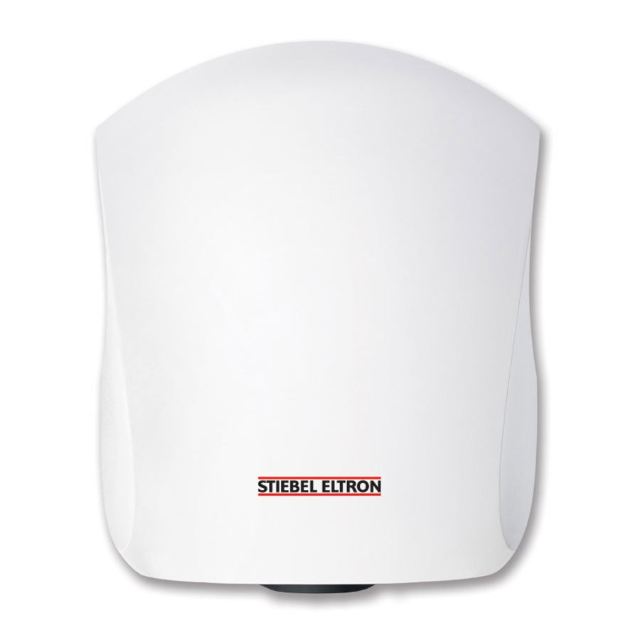 Stiebel Eltron 231585 Ultronic 1 W High Speed Automatic Hand Dryer with Cast Aluminum Housing (Alpine White Finish) - 120V, 985W
