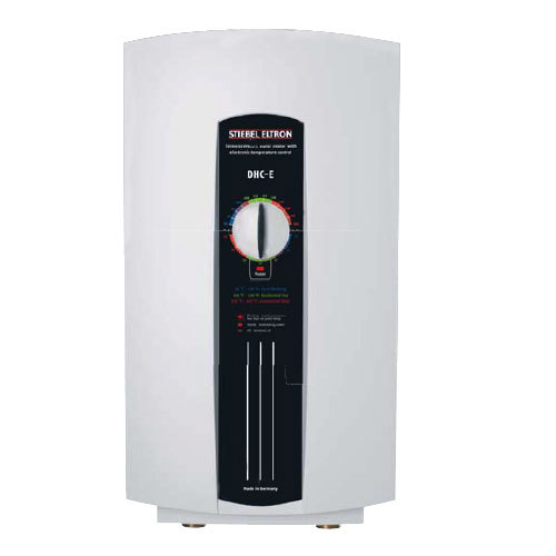 Stiebel Eltron 240V Single Phase Stiebel Eltron 224201 DHC-E 8/10 Multiple Point-of-Use Tankless Electric Water Heater - 9.6 kW, 0.37 GPM at Sears.com