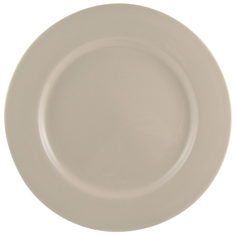 Homer Laughlin Rolled Edge 11 1/8 inch Creamy White / Off White China Plate 12 / Case