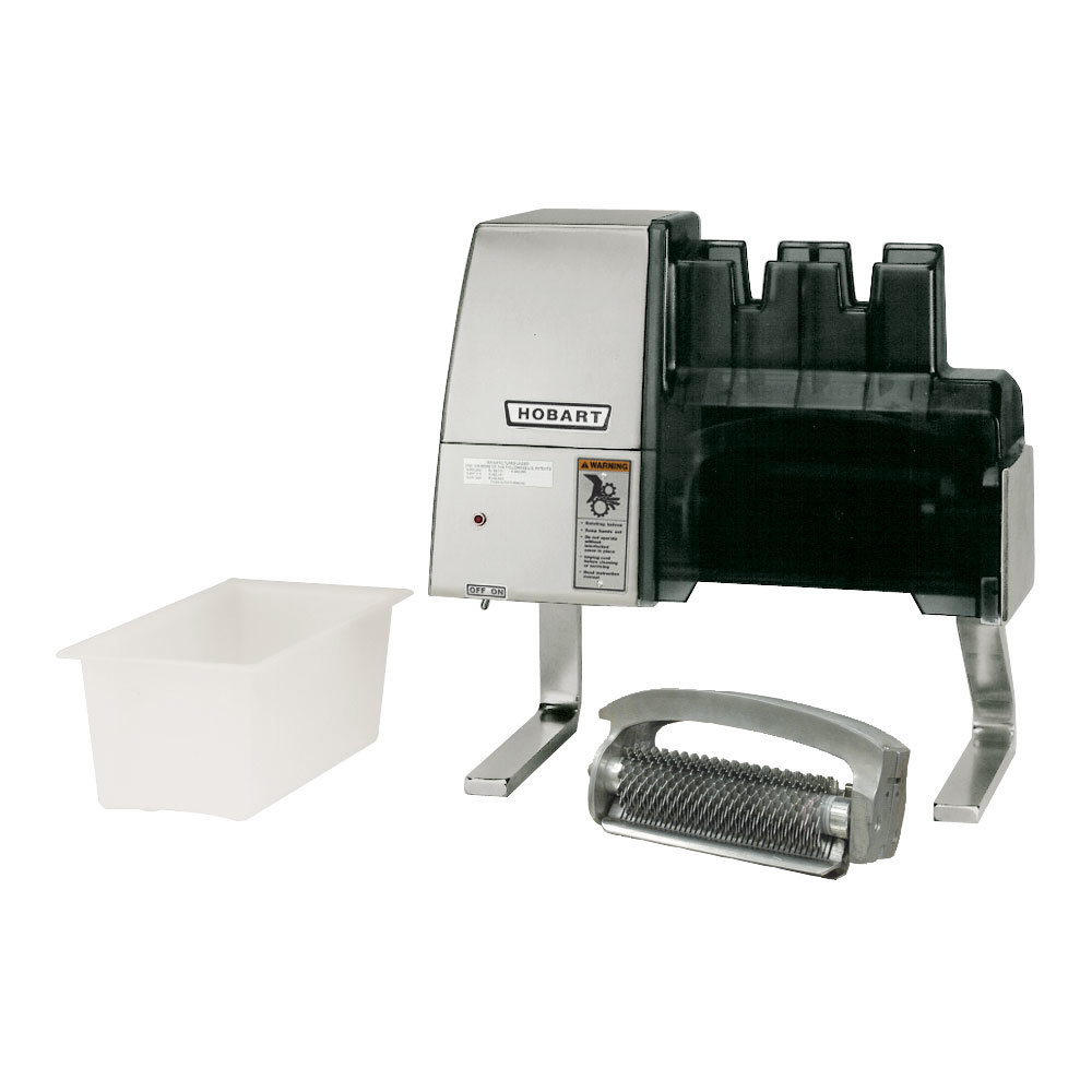"Hobart JUL-WIDE Wide 3/8"" Julienne Liftout Unit and Storage Holder for 403 Meat Tenderizer"