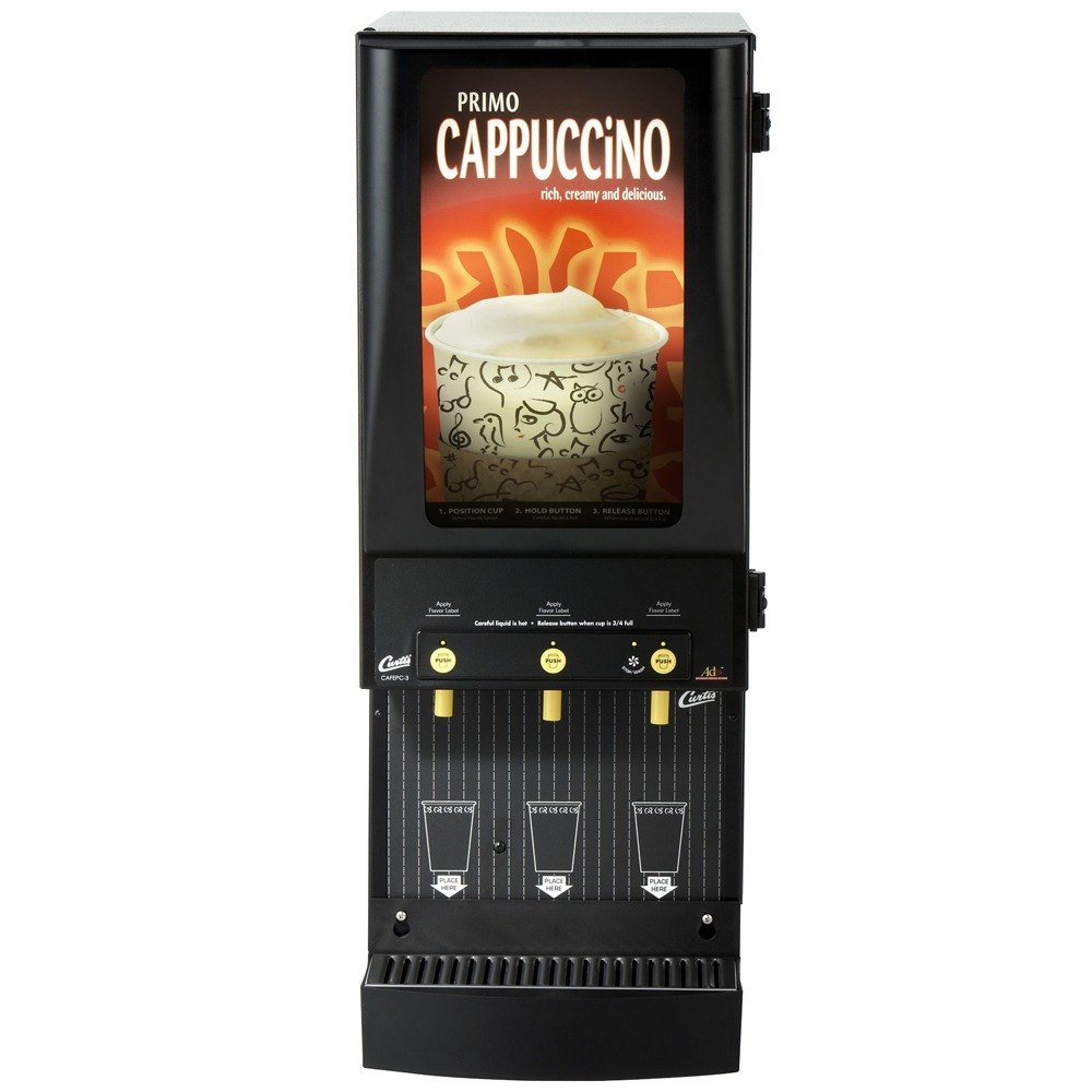 curtis cappuccino machine parts