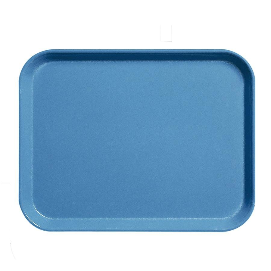 "Cambro 1520CL142 Blue 15"" x 20"" Camlite Tray 12 / Case"