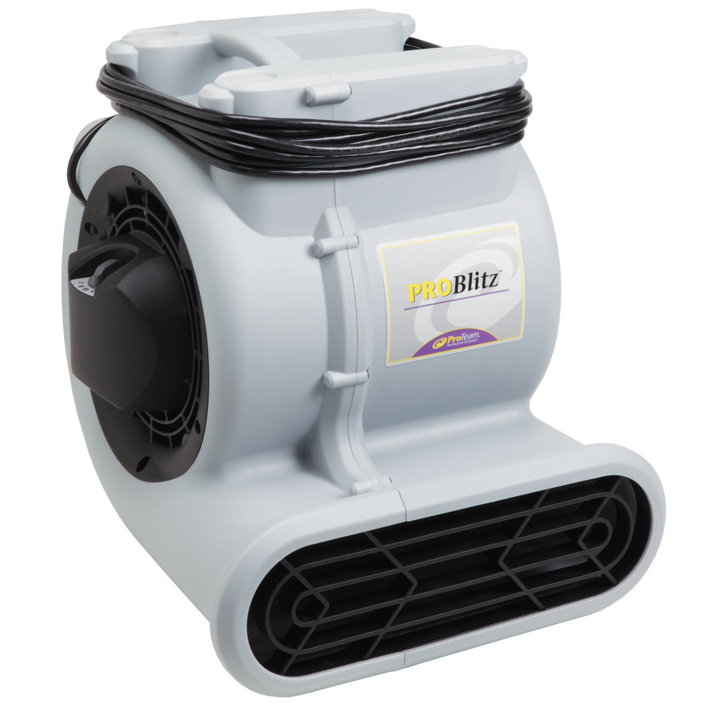 115 Volts ProTeam 107132 ProBlitz 3 Speed Air Mover With 30u0027 Cord   1/2 Hp