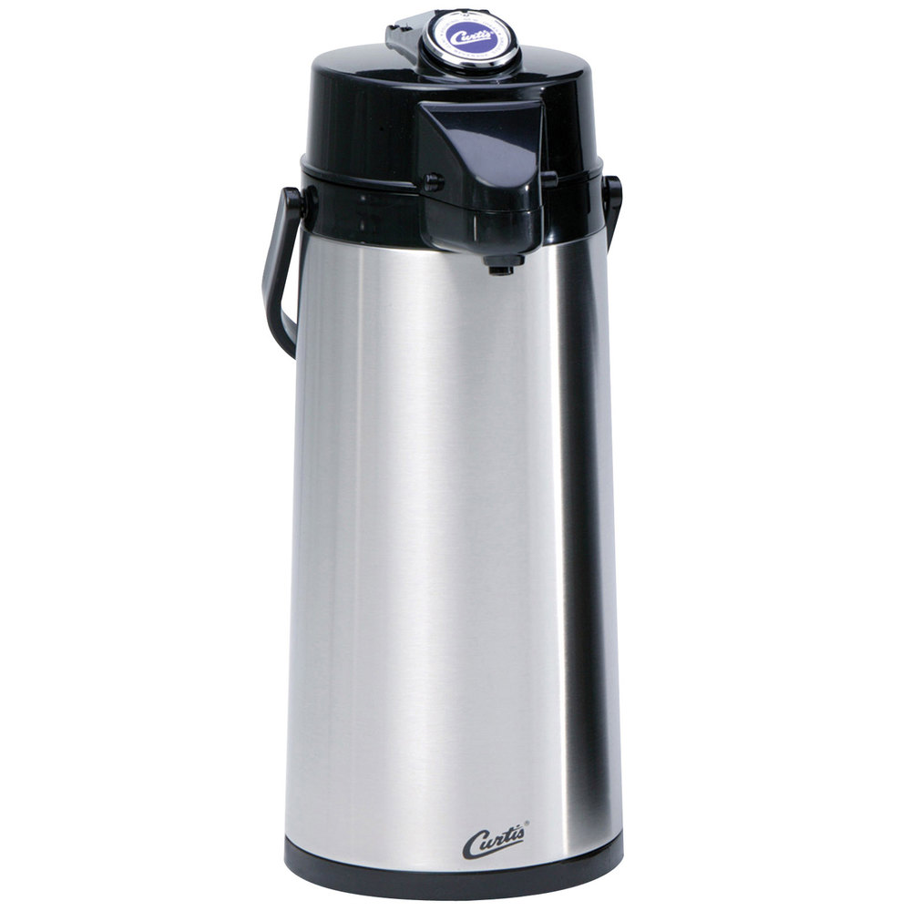 1 Liter Liner : Curtis tlxa g liter lever airpot with glass