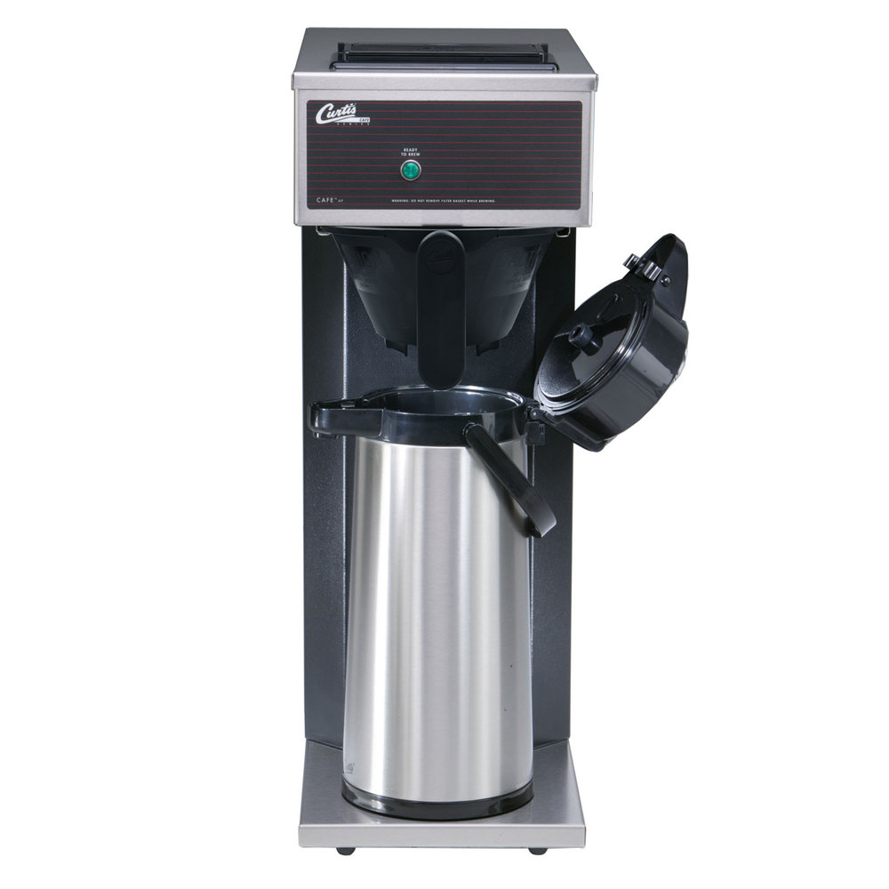 curtis pourover 22 liter airpot coffee brewer 120v - Coffee Brewer