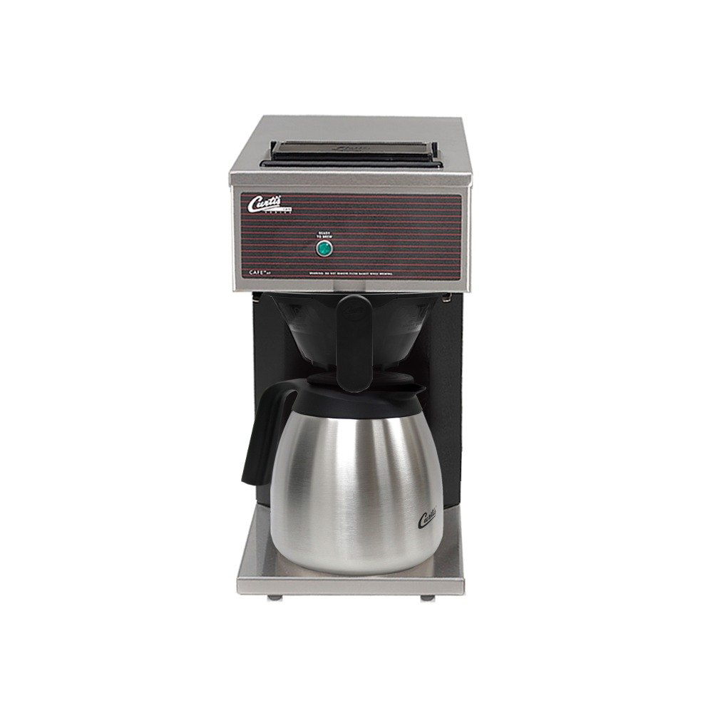Wilbur Curtis Curtis CAFEOPP10A000 12 Cup Pourover Thermal Carafe Coffee Brewer with 1 Lower Warmer - 120V at Sears.com