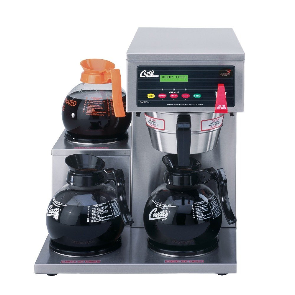 Curtis Alp3gtl63a000 12 Cup Coffee Brewer With 3 Lower