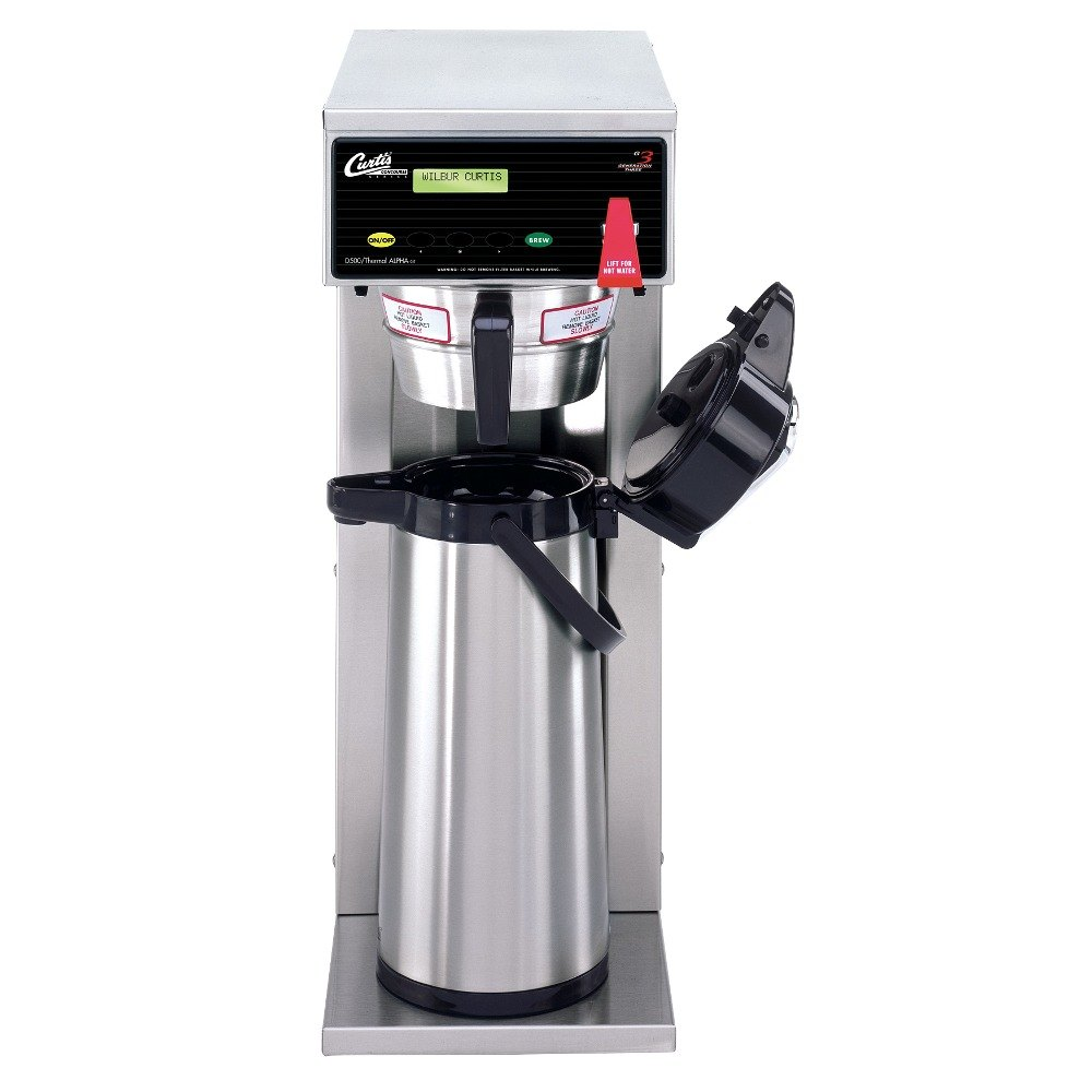 curtis automatic airpot coffee brewer with digital controls 120v - Coffee Brewer