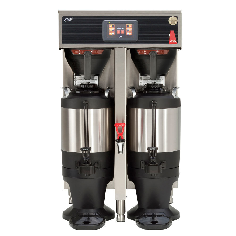 Wilbur Curtis Curtis G4TP2T10A3100 ThermoPro Stainless Steel Twin Coffee Brewer - 220V at Sears.com