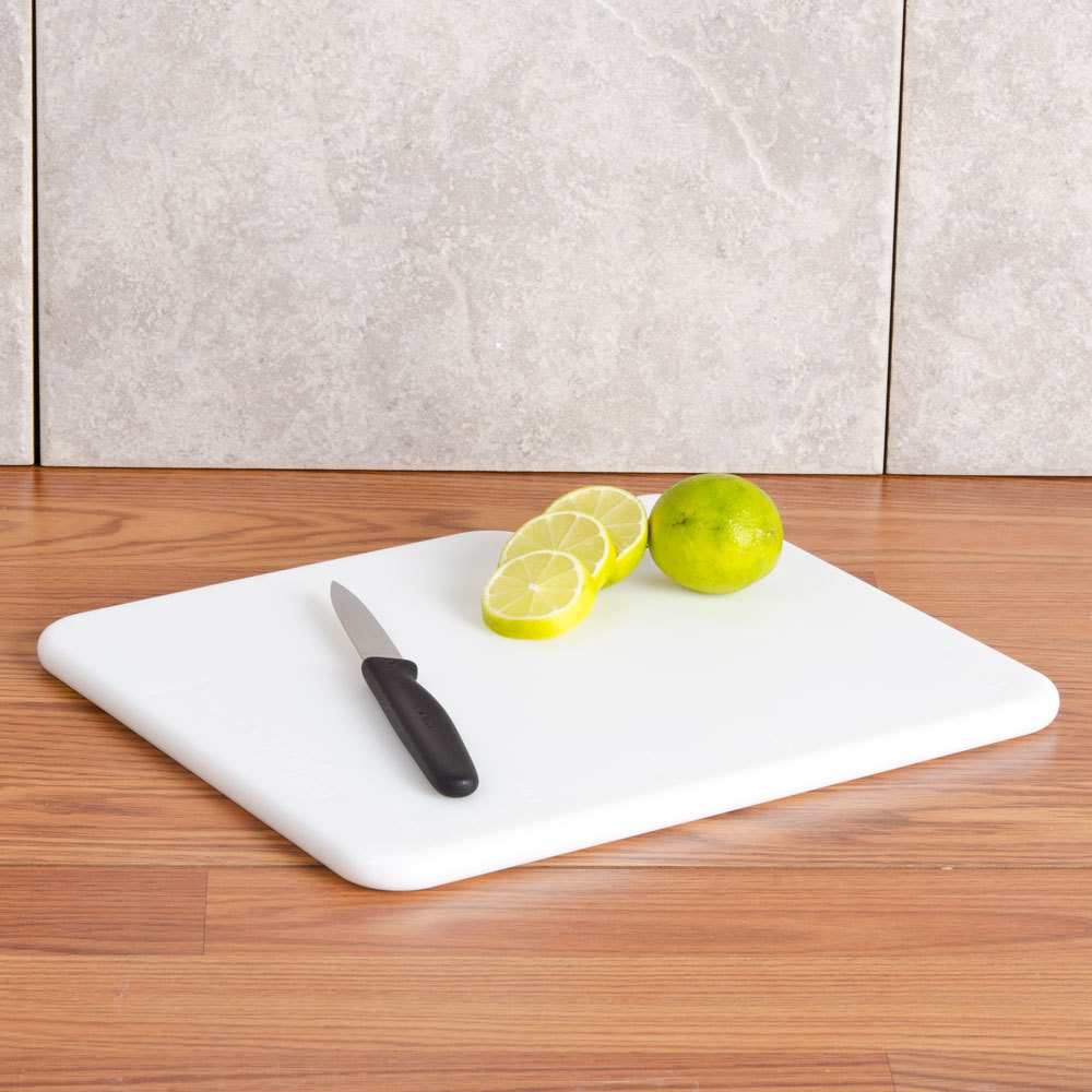 San jamar cb101212wh white 10 x 12 x 1 2 cut n carry for White cutting board used for