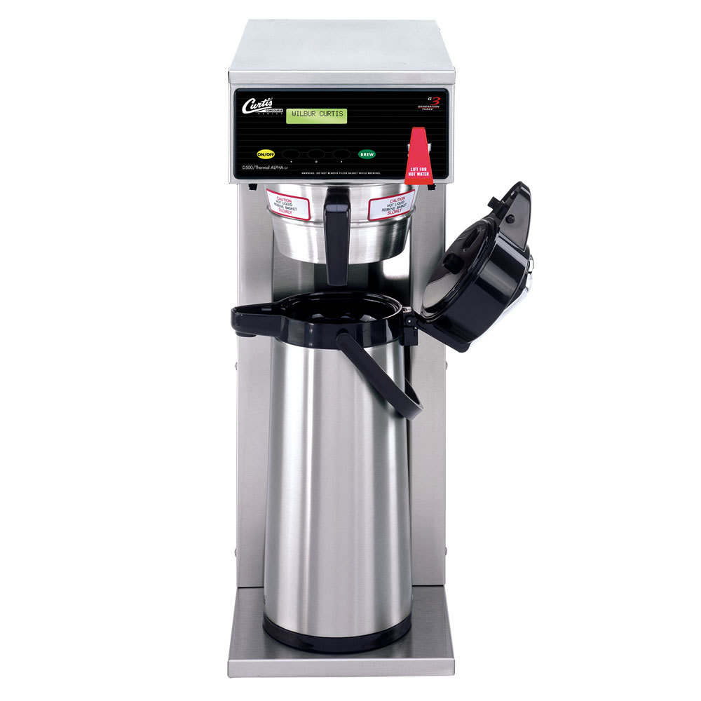 "Curtis D500GTH63A000 18"" Airpot Coffee Brewer - 120/220V"