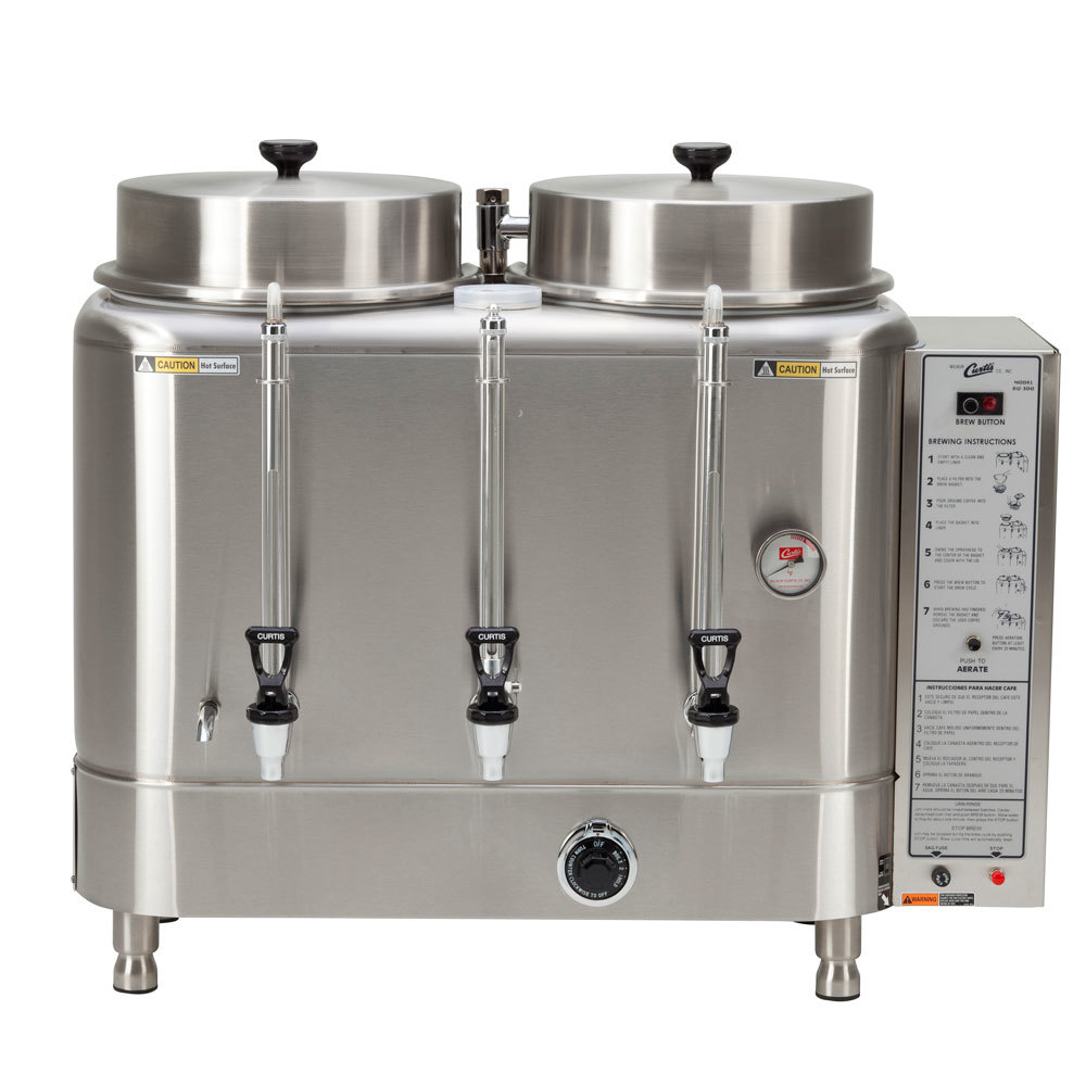 Wilbur Curtis Curtis RU-300-12 Automatic Twin 3 Gallon Coffee Urn - 120/220V at Sears.com