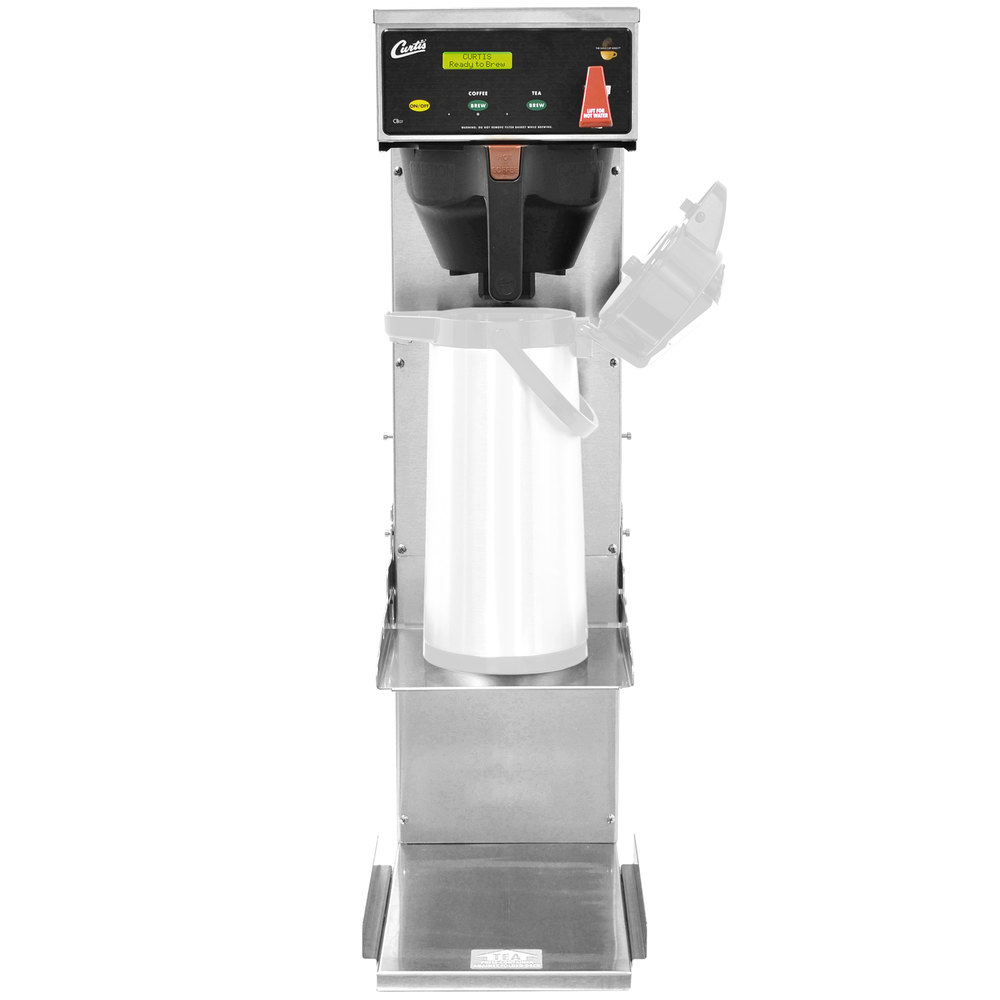 Curtis CBS10000 Combo Coffee / Tea Brewer with Adjustable Shelf - 120V