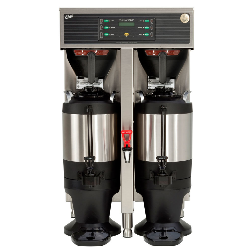 Curtis TP15T10A1100 ThermoPro Twin 3 Gallon Coffee Brewer - 220V