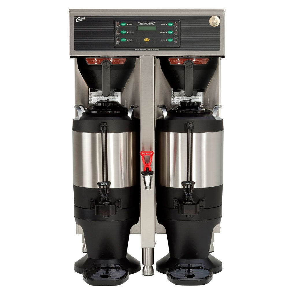 Curtis TP15T19A1100 ThermoPro Twin 3 Gallon Coffee Brewer - 220V, 4 Wire, 3 Phase