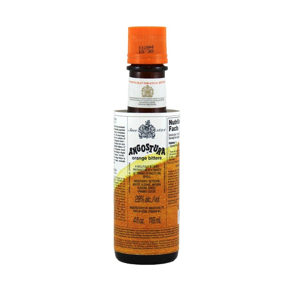 Angostura Orange Bitters 4 Oz Bottle Webstaurantstore