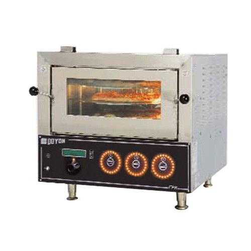 208v single phase doyon fpr3 countertop electric pizza deck oven 5 4 kw. Black Bedroom Furniture Sets. Home Design Ideas
