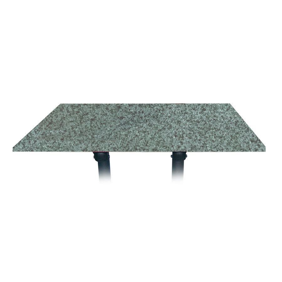 "Grosfillex 9985142548"" x 32"" Rectangular Molded Melamine Outdoor Table Top - Granite Green at Sears.com"