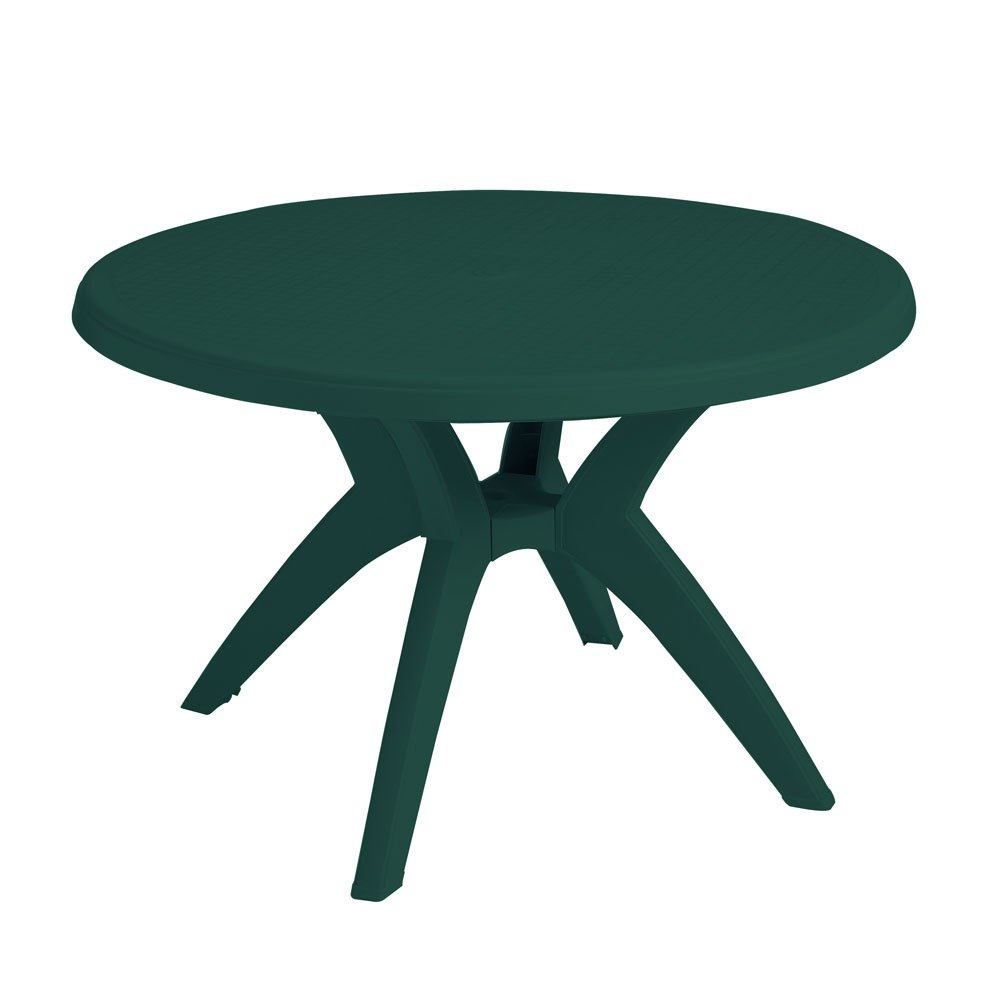 Round Outdoor Coffee Table With Umbrella Hole Modern