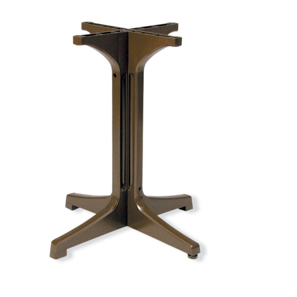 Grosfillex 55631837 Bronze Mist Resin Pedestal Outdoor