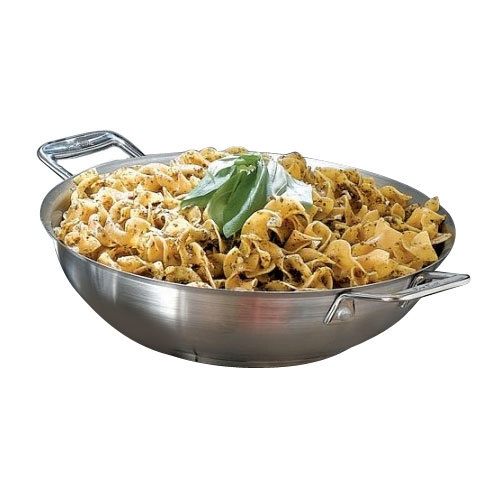 "Bon Chef 60014 Cucina 10"" Stainless Steel Stir Fry Pan with 2 Side Handles at Sears.com"