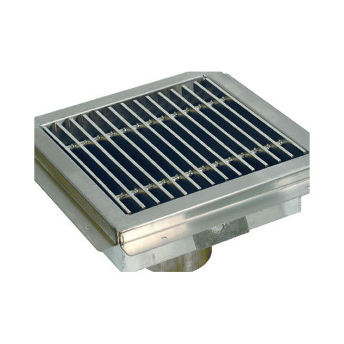 Advance tabco fd 1 stainless steel grate for fdr 1212 for 12 x 12 floor drain grate