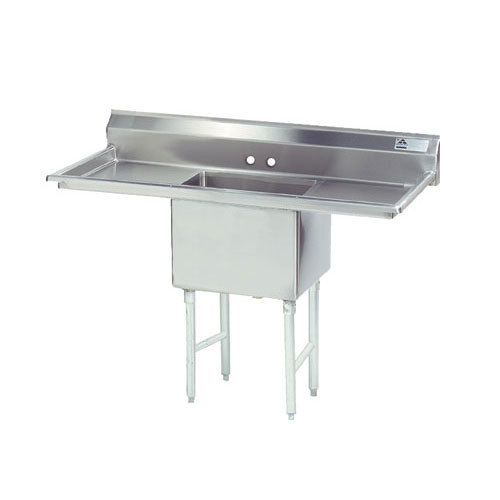 Commercial Sinks Australia : ... Compartment Stainless Steel Commercial Sink with Two Drainboards - 60