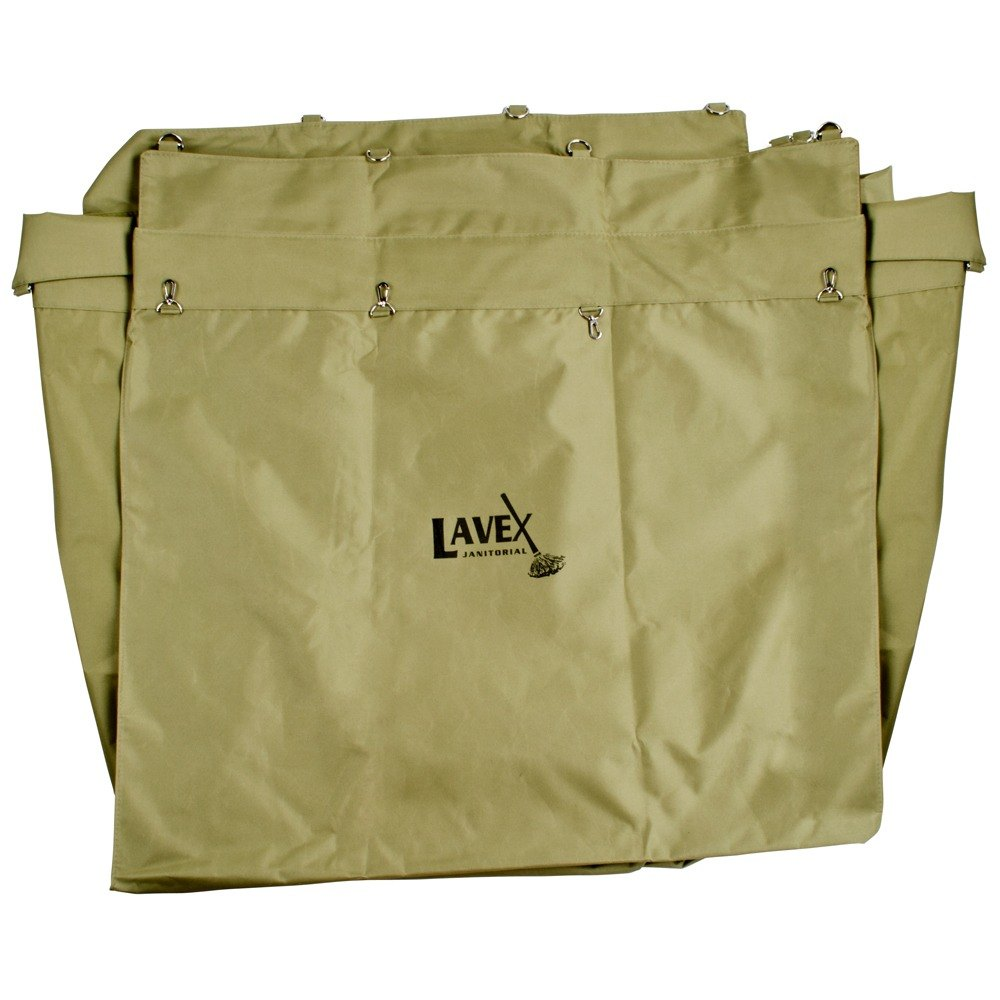 Lavex Lodging 14 Bushel Replacement Canvas Liner for Metal Frame Laundry / Trash Cart