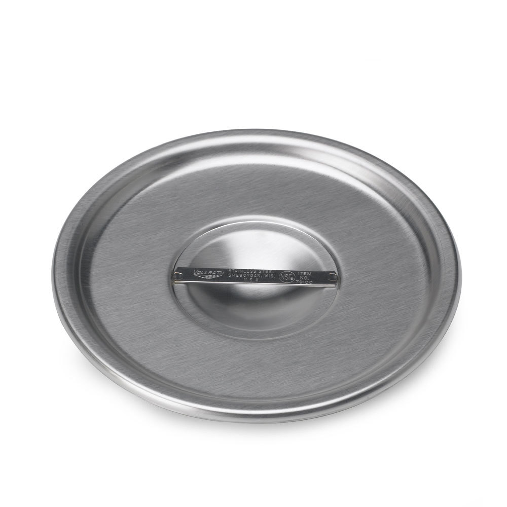 "Vollrath 79080 6 3/4"" Stainless Steel Bain Marie Cover"