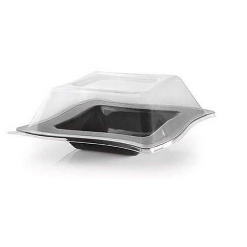 Fineline Wavetrends 105-L Clear Dome Lid for 5 oz. Bowl - 120 / Case