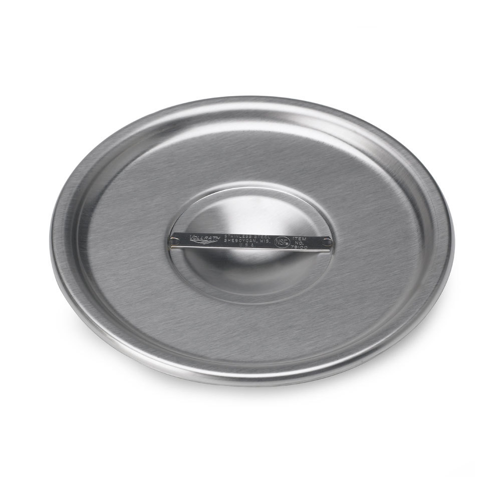 "Vollrath 79100 7 1/8"" Stainless Steel Bain Marie Cover"
