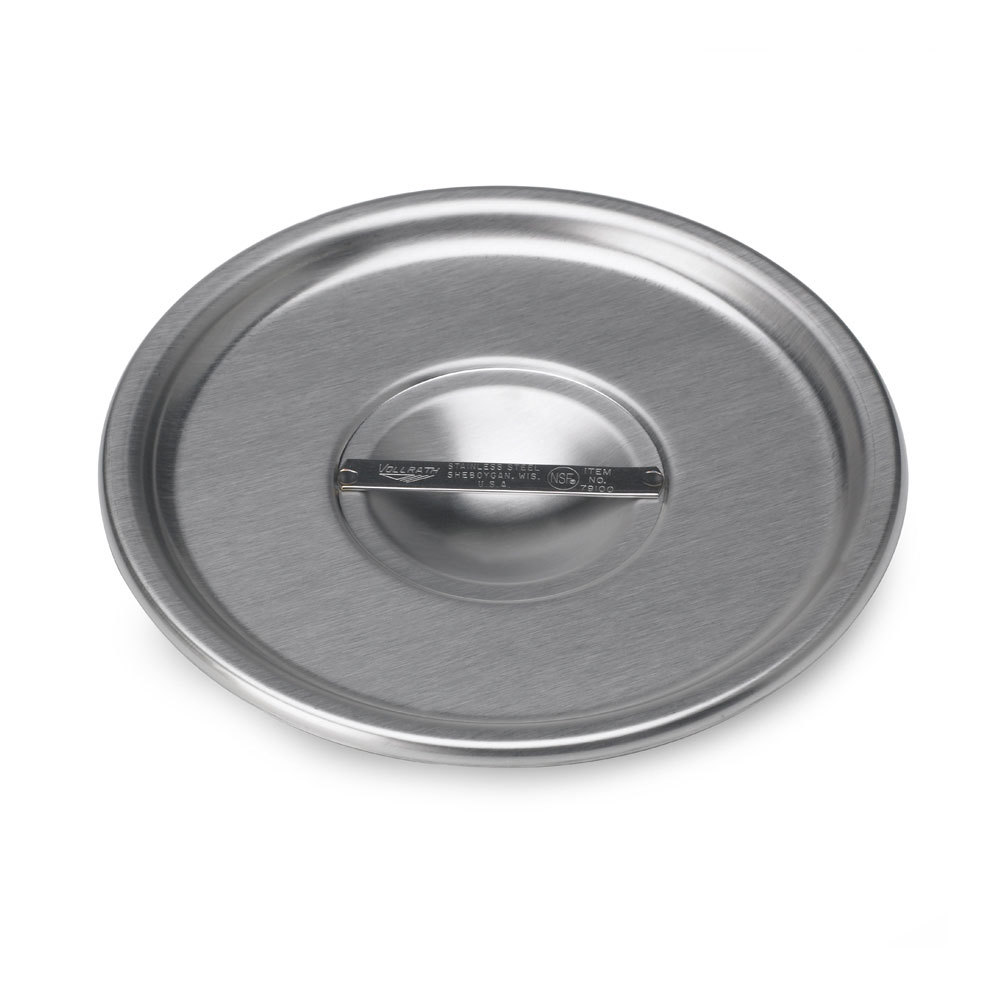 "Vollrath 79020 4 3/4"" Stainless Steel Bain Marie Cover"