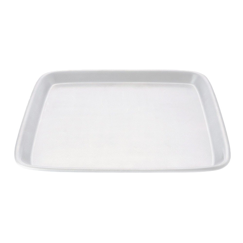 "Elite Global Solutions JW5212 Zen 12 1/8"" White Square Tray"