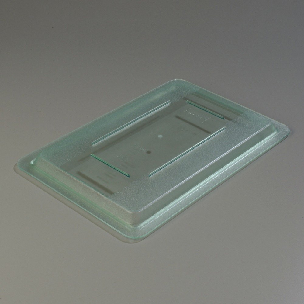 "Carlisle 10617C09 StorPlus Green Lid for Food Storage Boxes - 18"" x 12"""