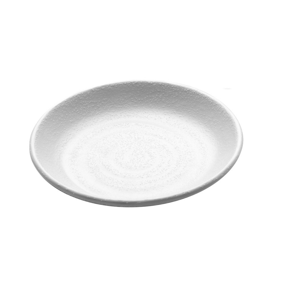 Elite Global Solutions JW7005 Zen 5 1/8 inch White Round Plate
