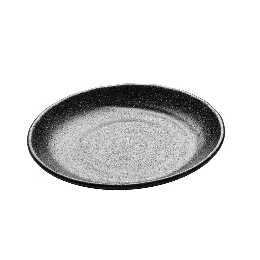 "Elite Global Solutions JW7010 Zen 10 1/8"" Black Round Plate"