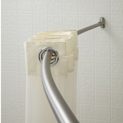 Crescent Suite B60bs6 5 39 Stainless Steel Curved Shower Rod