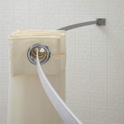 crescent suite hba00kit046 5 39 aluminum curved shower