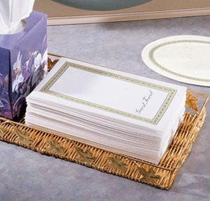 Custom research paper guest towels napkins
