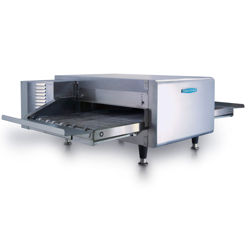 TurboChef HHC2020 48 inch High h Ventless Conveyor Oven - 70/30 Split Belt