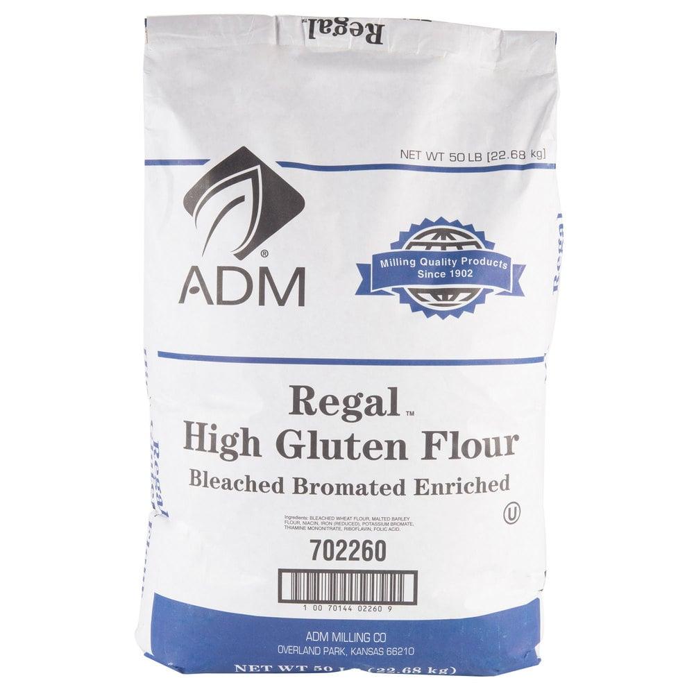 High Gluten Premium Wheat Flour 50 Lb