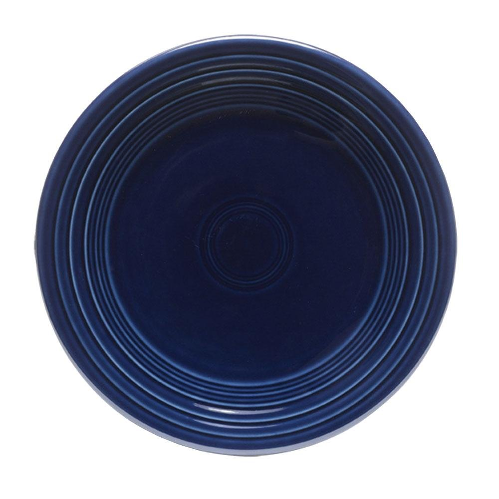Homer Laughlin 463105 Fiesta Cobalt Blue 6 1/8 inch Bread and Butter Plate - 12 / Case