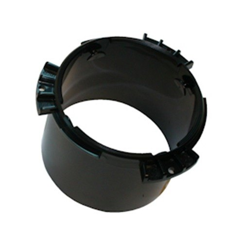 "San Jamar X22MT Black Dispenser Mounting Ring for 2 3/4"" to 3 3/4"" Diameter Cup or Lid Dispensers"