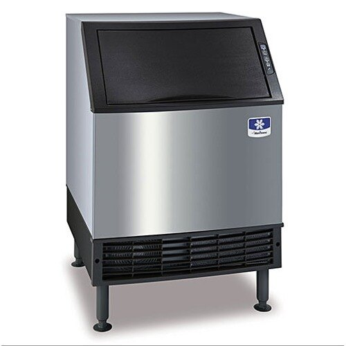 Manitowoc UY-0240W NEO Undercounter Half Cube Ice Machine Water Cooled - 212 lb.