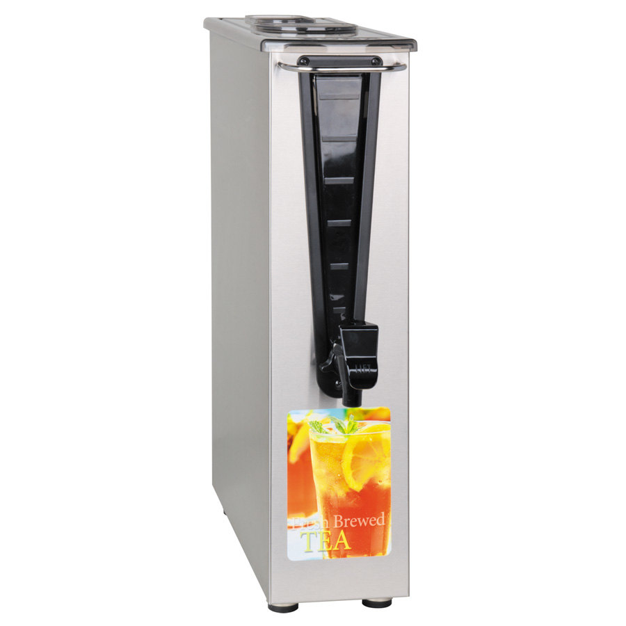 Bunn TD3T-N 3.5 Gallon Narrow Iced Tea Dispenser with Brew Thru Lid